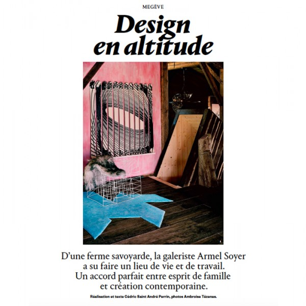 Reportage AD magazine