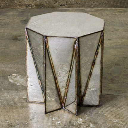 Jagged Edge Stool