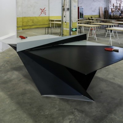 Shwisty Ping-Pong table
