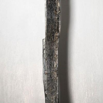 Silver-Black Thin Wood