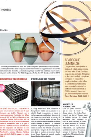 DESIGN HOME MAGAZINE NOVEMBRE 2014