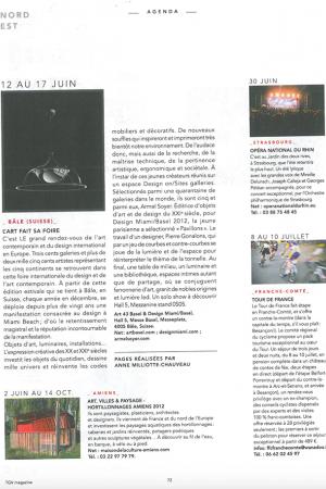 TGV Magazine, L'art fait sa foire